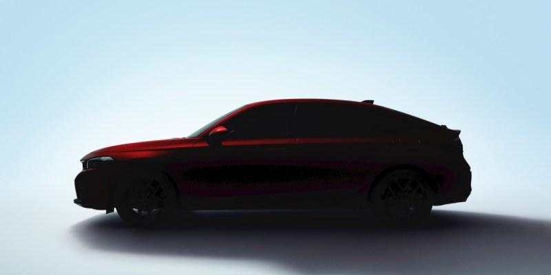 Honda Jepang Tampilkan Teaser All New Civic Hatchback Secara Virtual
