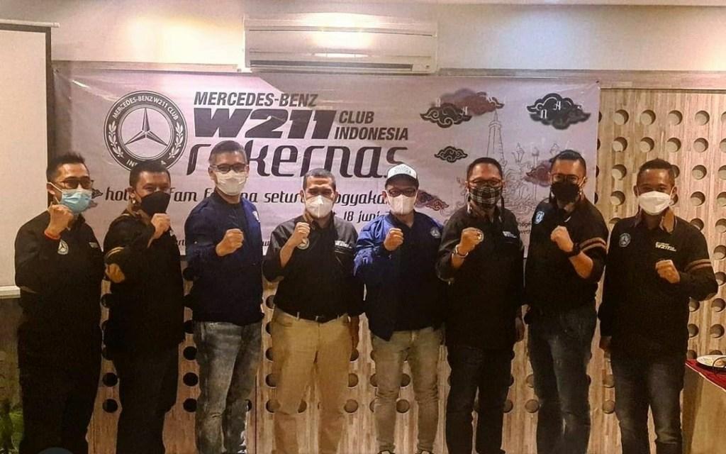 Seluruh Chapter Hadiri Rakernas MB W211 CI di Yogyakarta