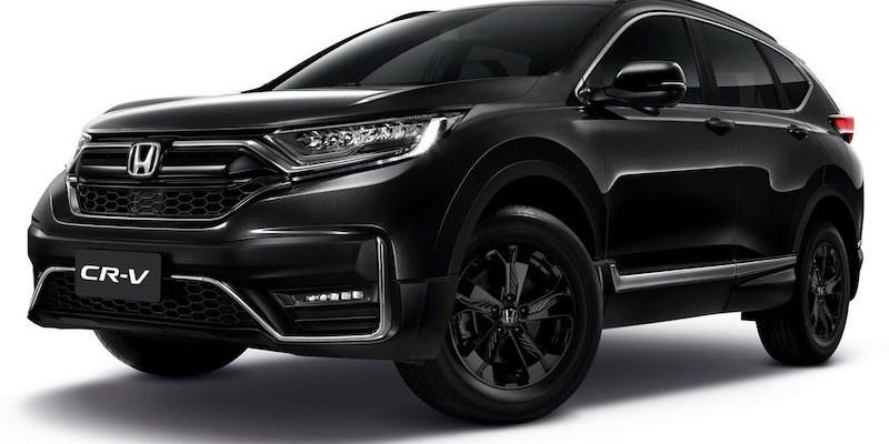 Serba Hitam, Honda CR-V Black Edition Meluncur Di Thailand