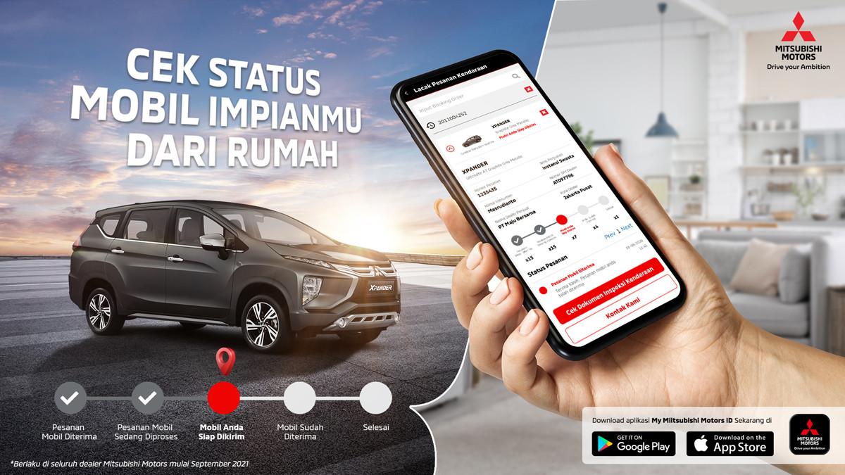 Monitor Pemesanan dan Garansi Produk MMKSI Via Smartphone