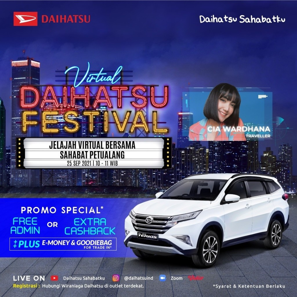 Daihatsu Gelar Program Virtual Daihatsu Festival Dengan Ragam Promo Menarik
