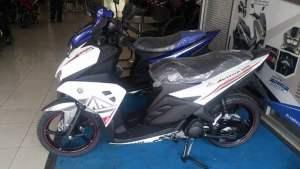 Yamaha aerox 125 di dealer