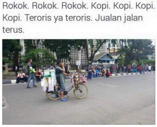 potret unik tragedi terorisme bom sarinah jakarta 04