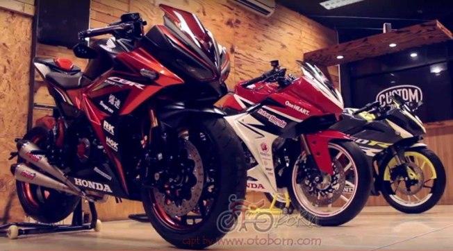 modifikasi all new cbr 150r facelift 2016 bms otoborn 01x