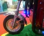 Huadian SAPI 1.2 Red suspensi depan