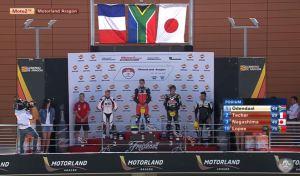 podium steven odendaal race2 moto2 fim cev repsol 2016 aragon