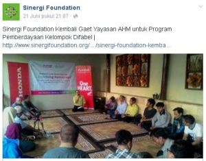 program difabel sinergi foundation-astra honda motor 2016