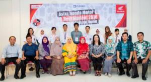 Peserta tahap seleksi regional di area Sumatera Utara. Sebanyak 573 peserta dari 301 sekolah yang mengikuti seleksi AHMBS di tingkat daerah tahun ini, terpilih 70 siswa-siswi terbaik yang akan mengikuti Final AHMBS 2016 tingkat nasional di Jakarta pada 4-8 Agustus 2016