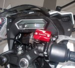 Honda All New CBR150R Aksesoris Terpasang dashboard