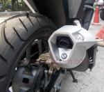 Honda New Supra GTR150 muffler