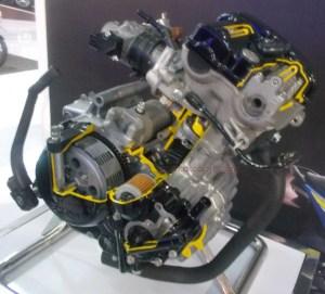 mesin dohc suzuki 150cc