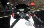 TVS Apache RTR200 Fairing dashboard
