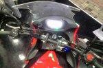 TVS Apache RTR200 touring kanan dashboard