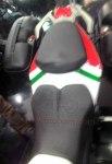 TVS Apache RTR200 touring Spllit Seat Atas