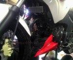 TVS Apache RTR200 undercowl depan
