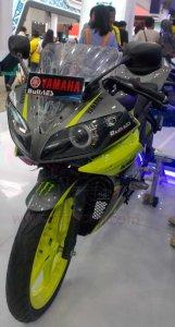 Yamaha R15 cargloss depan kiri