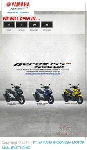 Inden Yamaha Aerox 155 VVA 1