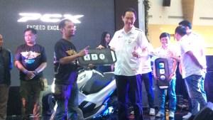 Regional Launching Harga Honda New PCX150 2018 di Jawa Barat