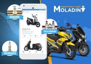 Moladin Melayani Beli Motor Online Sampai Semarang
