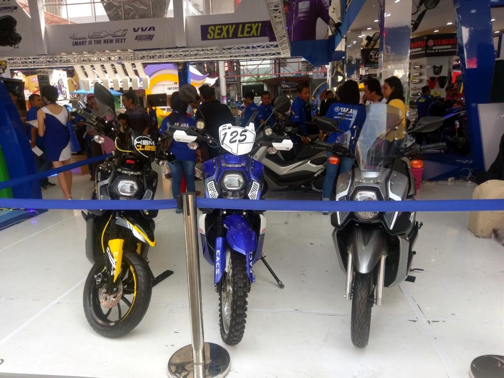 Modifikasi Sederhana Yamaha X Ride 125 Makin Kece KNTL Banyak Rasa