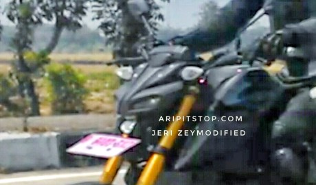 Headlamp Mirip MT-09 Motor Sport Baru Yamaha 150cc Tinggal Tunggu Rilis