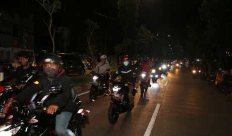 SIS Menggelar AcaraSuzuki Special Day: Saturday Night Riding