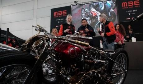 Motor Garapan Modifikator IndonesiaTerpilih 3 Besar The King of Motor Bike Expo 2019