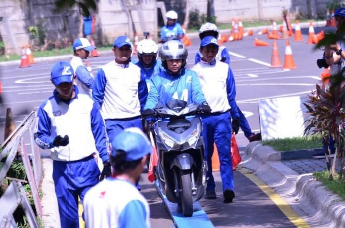 Proses Seleksi Jawara Safety Riding Tidak Mudah