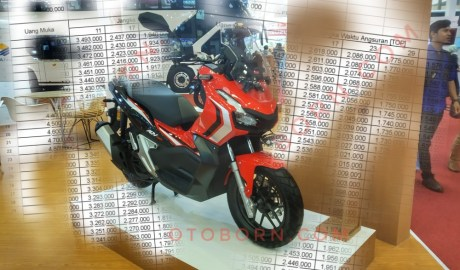 Cicilan Lengkap Honda ADV150