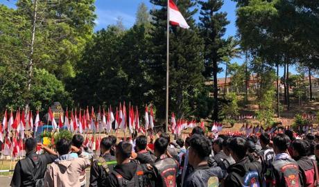 Konvoi Kemerdekaan Ala Honda Merayakan HUT ke-74 Republik Indonesia