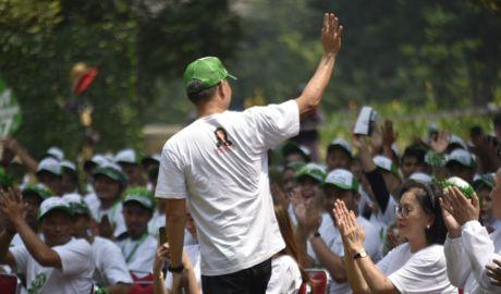 HUT Wahana ke 47 di Kebun Raya Bogor Haru Hijau