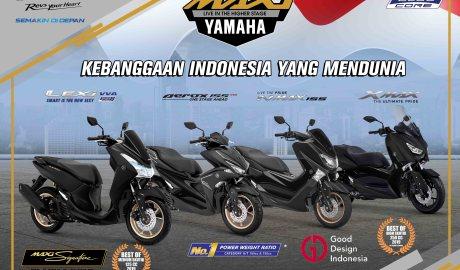 Tentang Skutik Maxi Yamaha Berteknologi BlueCore