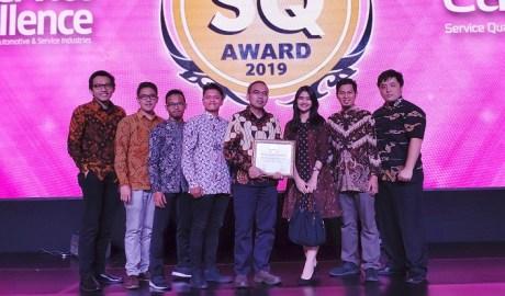 AHASS Raih Penghargaan Tertinggi Pada Ajang Service Quality Award 2019