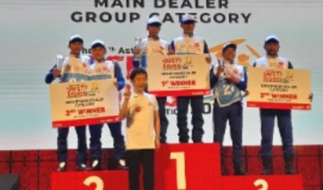 DAM Juara 2 AHSRIC 2019 Kategori Instruktur Grup Main Dealer