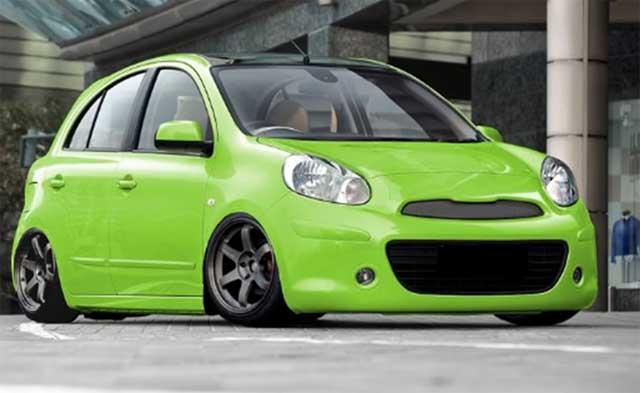 15 Konsep Modifikasi Nissan March Terbaru