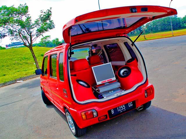 20 Modifikasi Karimun Wagon R Kotak dan Estilo