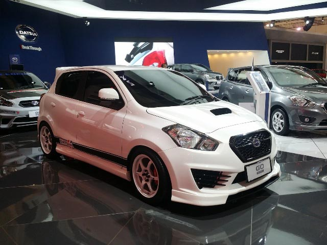 25 Modifikasi Datsun Go Panca Hatchback Go Plus - Otodrift