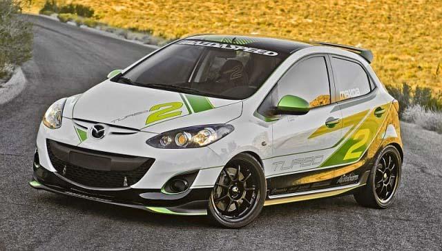 30 Konsep Modifikasi Mobil Mazda 2 Terbaru