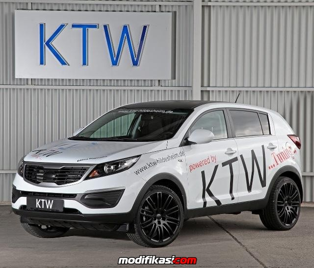 7 Konsep Modifikasi Mobil Kia Sportage Terbaru