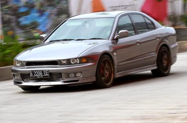 10 Modifikasi Sedan Mitsubishi Galant Hiu Terbaru