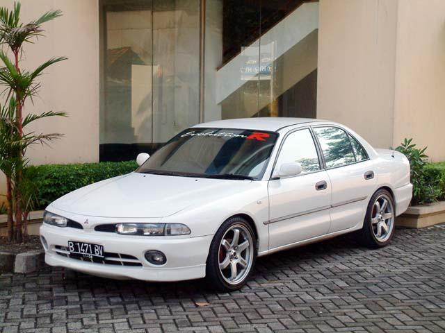10 Modifikasi Sedan Mitsubishi Galant Lele Terbaru