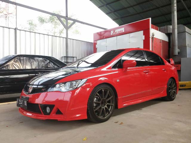 15 Modifikasi Sedan Honda Civic FD1/FD2 Terbaru