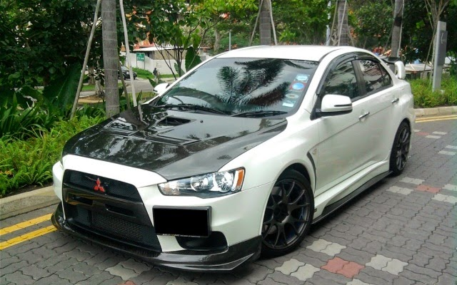 30 Modifikasi Sedan Mitsubishi Lancer Evo Terbaru