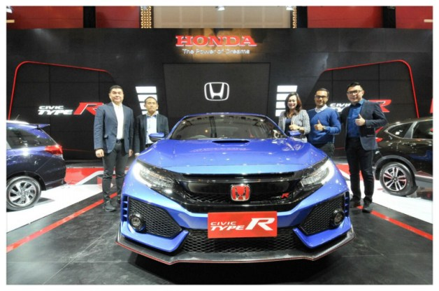 warna baru honda civic type r 2017