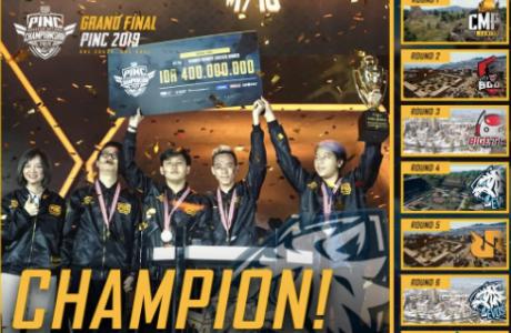 Juara Nasional PUBG Mobile Indonesia National Championship 2019