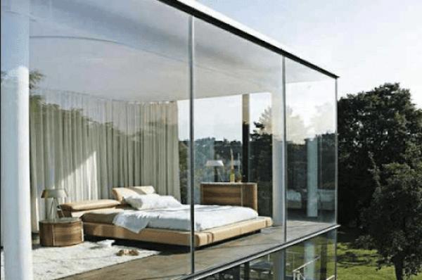 Resiko penggunaan Dinding Kaca Pada Rumah