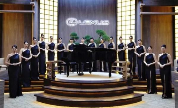 "Lexus Indonesia Sajikan ""Royal Kabuki Lounge"""