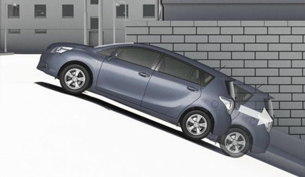 Cara Posisi Ban Mobil Yang Aman Saat Parkir
