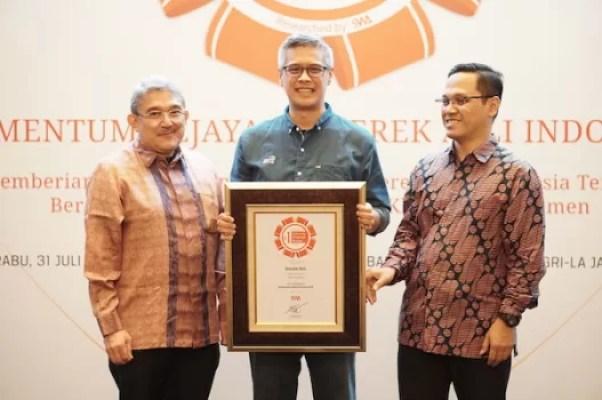 Garda Oto Raih Indonesia Original Brands 2019