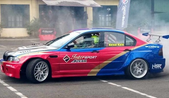 Intersport AR Team Akan Edukasi Pecinta Drift